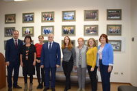 European experts and ENTEP team with Rector…