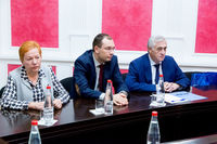 USUE Rector, Vice-Rector and M.Vidrevich…